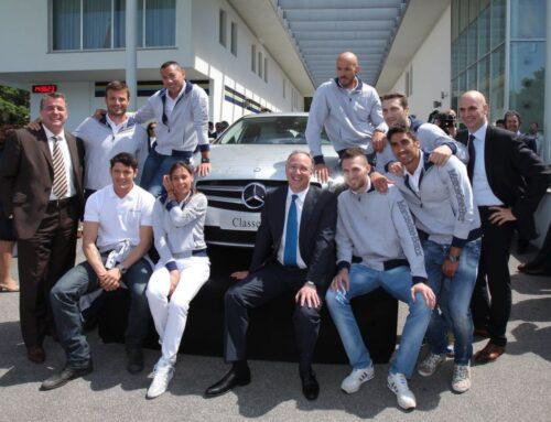 Le stelle del Mercedes-Benz Team e delle reti Mediaset ai Celebrity Games 2012