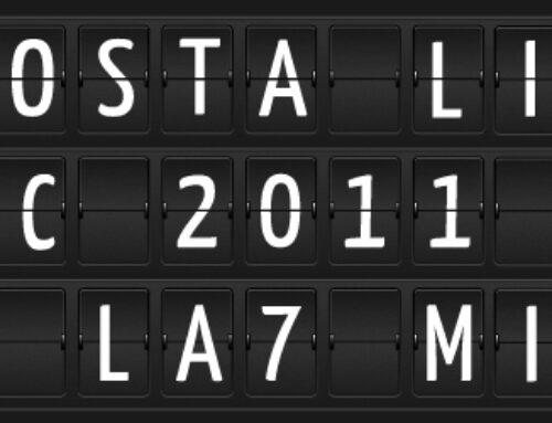 AstaTosta LIVE – Studi LA7 – Serata d'aste solidali che é quasi un cabaret.